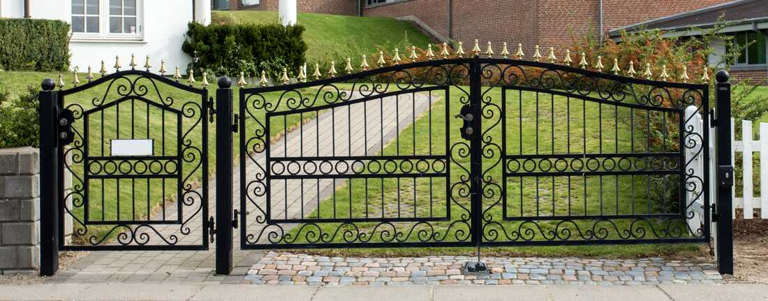 st marys wrought iron fence nsw
